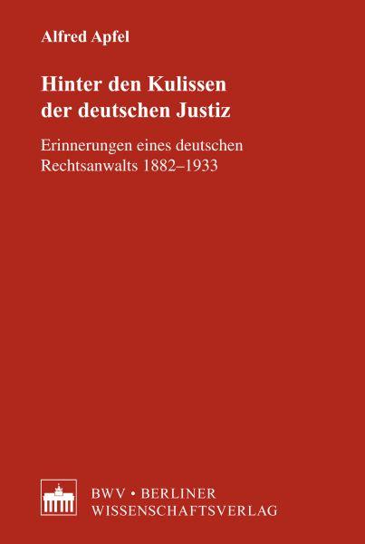Hinter den Kulissen der deutschen Justiz