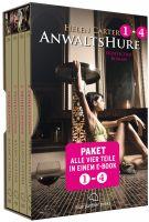 Anwaltshure 1-4 | Erotik Paket Bundle | Alle vier Teile in einem E-Book | 4 Erotische Roman