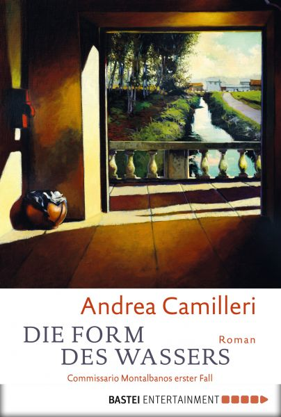 Cover Andrea Camilleri Die Form des Wassers