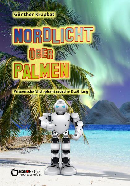 Nordlicht über Palmen