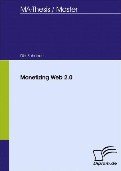 Monetizing Web 2.0