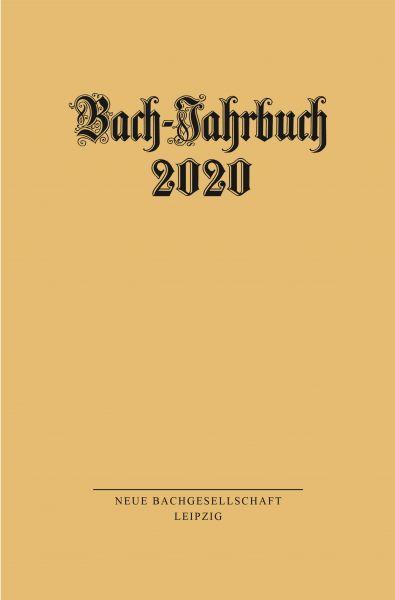 Bach-Jahrbuch 2020
