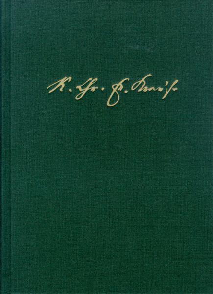 Karl Christian Friedrich Krause: Ausgewählte Schriften / Band I: Entwurf des Systems der Philosophie
