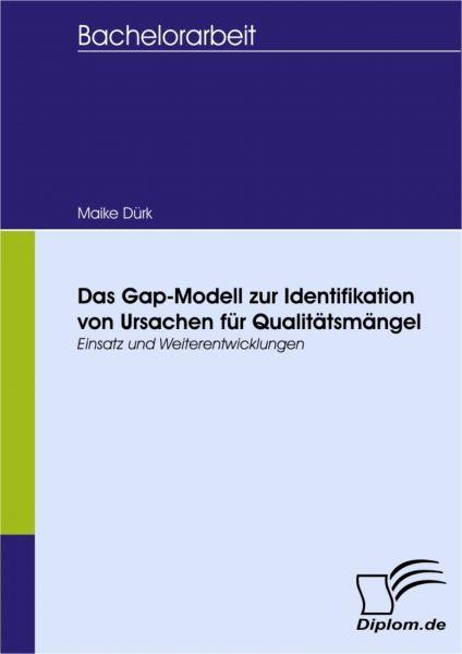 Das Gap-Modell zur Identifikation von Ursachen für Qualitätsmängel