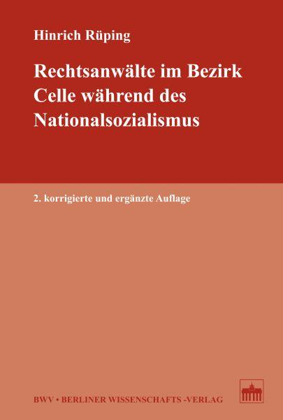 Rechtsanwälte im Bezirk Celle während des Nationalsozialismus