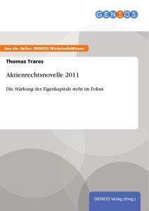 Aktienrechtsnovelle 2011