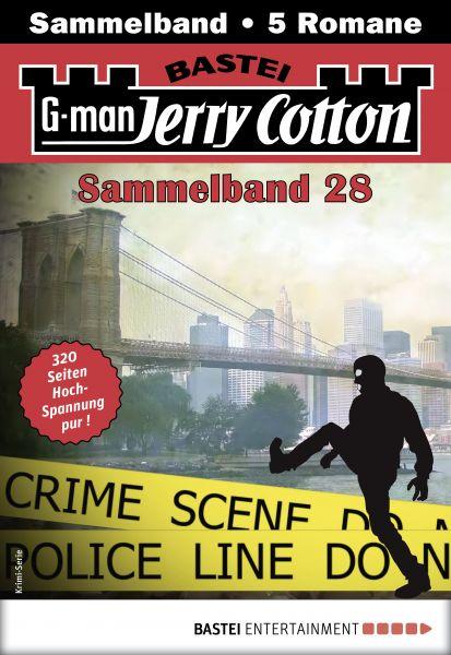 Jerry Cotton Sammelband 28 - Krimi-Serie