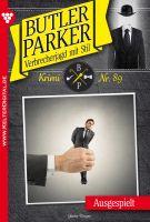 Butler Parker 89 - Kriminalroman