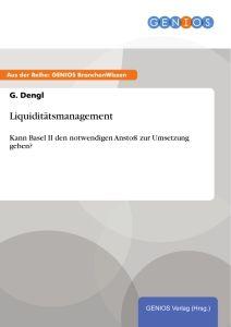 Liquiditätsmanagement