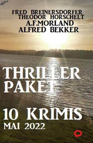 Thriller-Paket 10 Krimis September 2018