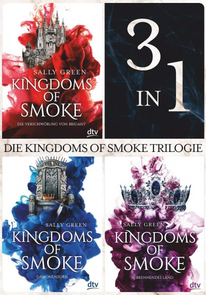 Die Kingdoms of Smoke Trilogie (3in1-Bundle)