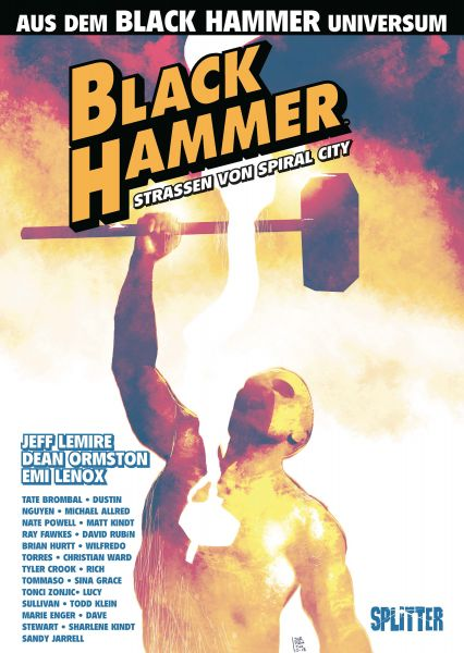 Black Hammer: Straßen von Spiral City