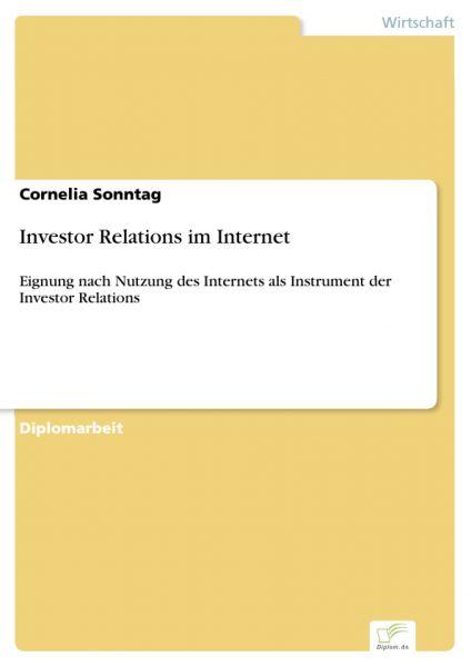 Investor Relations im Internet