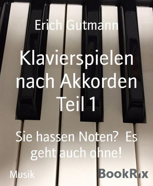 Klavierspielen nach Akkorden