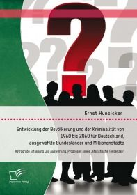 Entwicklung der Bevölkerung und der Kriminalität von 1960 bis 2060 für Deutschland, ausgewählte Bund