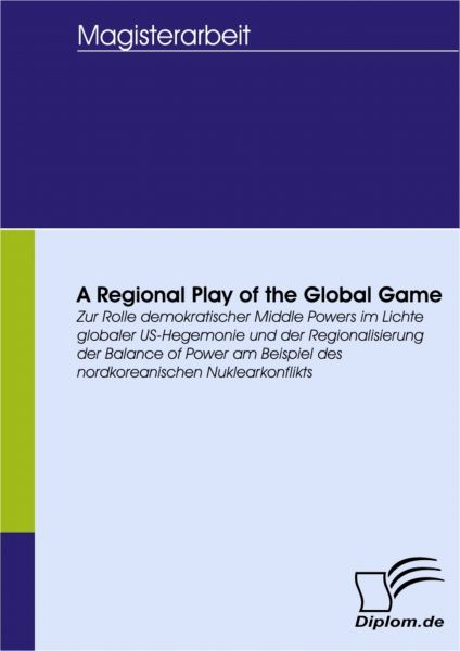 A Regional Play of the Global Game