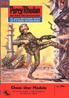 Perry Rhodan 314: Chaos über Modula (Heftroman)