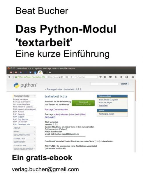 Das Python Modul 'textarbeit'