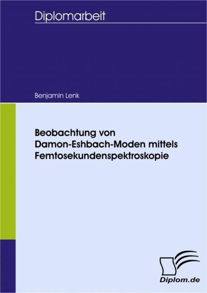 Beobachtung von Damon-Eshbach-Moden mittels Femtosekundenspektroskopie