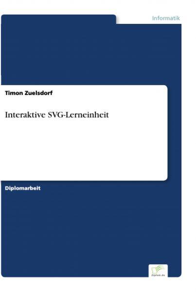 Interaktive SVG-Lerneinheit