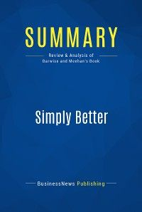 Summary: Simply Better