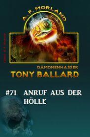 Tony Ballard # 71: Anruf aus der Hölle