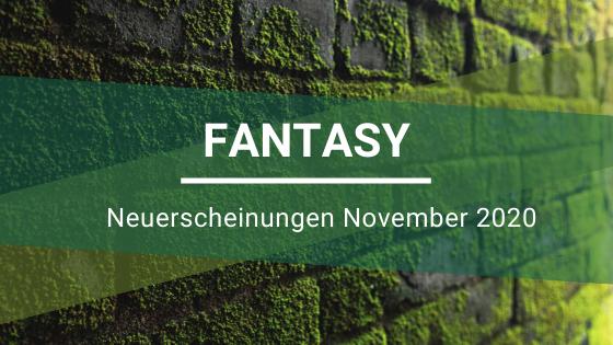 Fantasy-Neuerscheinungen-November