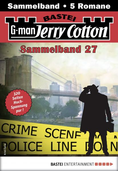 Jerry Cotton Sammelband 27 - Krimi-Serie