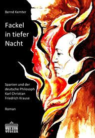 Fackel in tiefer Nacht