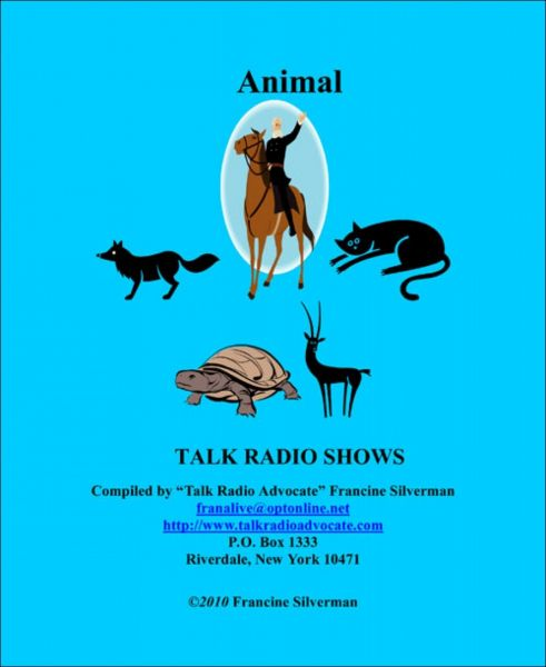 Animals Ebook of Talk Radio Shows