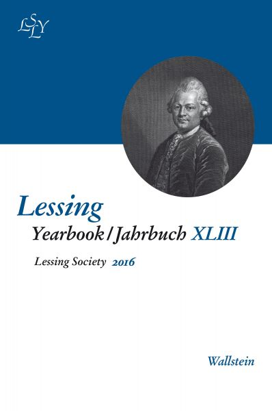 Lessing Yearbook / Jahrbuch XLIII, 2016