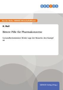 Bittere Pille für Pharmakonzerne