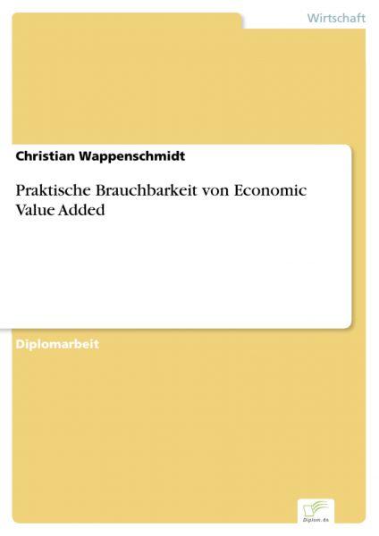 Praktische Brauchbarkeit von Economic Value Added