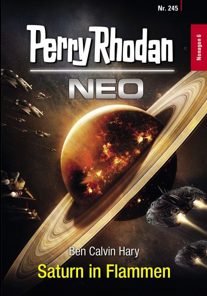 Perry Rhodan Neo 245: Saturn in Flammen