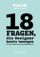 18 Fragen, die Designer heute bewegen