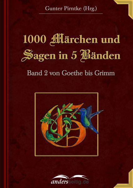 1000 Märchen und Sagen in 5 Bänden - Band 2