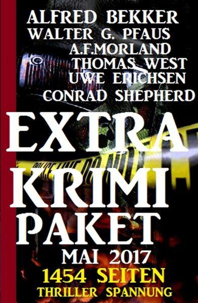 1454 Seiten Thriller Spannung: Extra Krimi Paket 2017