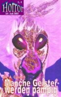 HORROR 018: Manche Geister werden pampig