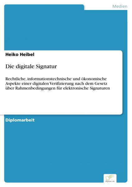 Die digitale Signatur