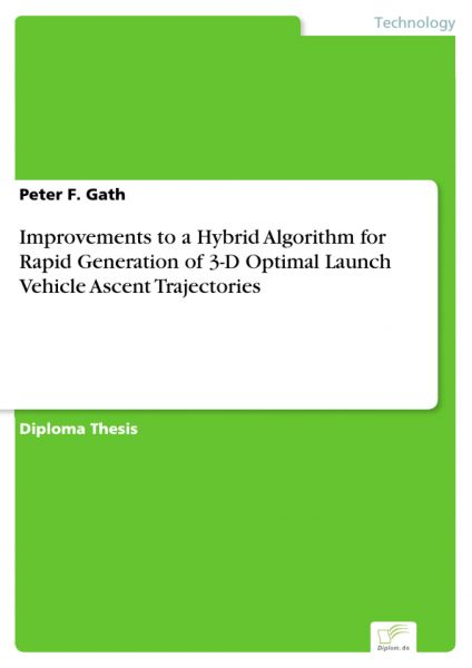 Improvements to a Hybrid Algorithm for Rapid Generation of 3-D Optimal Launch Vehicle Ascent Traject