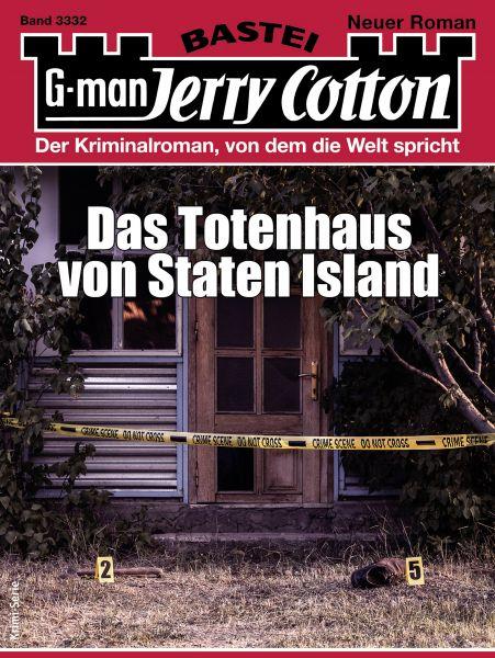 Jerry Cotton 3332- Krimi-Serie