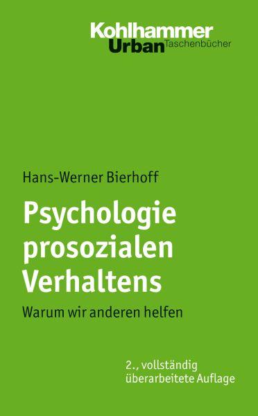 Psychologie prosozialen Verhaltens