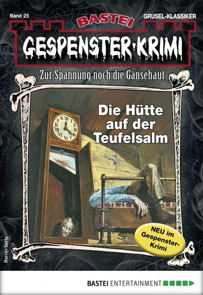 Gespenster-Krimi 25 - Horror-Serie