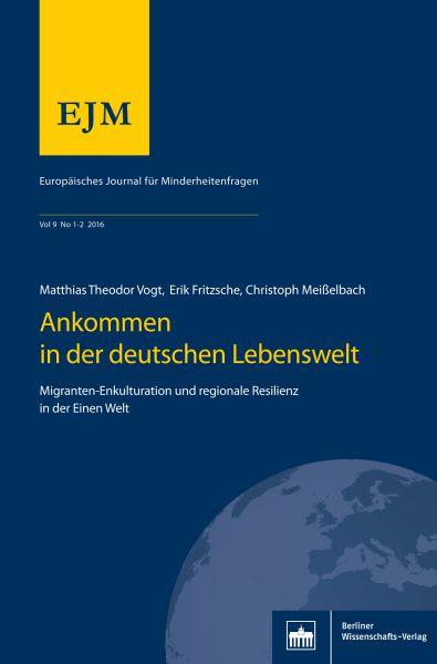 Europäisches Journal für Minderheitenfragen Heft 01-02/2016, Jg. 9