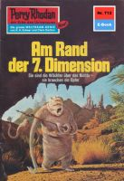 Perry Rhodan 712: Am Rand der 7. Dimension (Heftroman)
