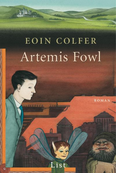 Cover Eoin Colfer: Artemis Fowl