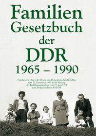 Familiengesetzbuch der DDR 1965-1990