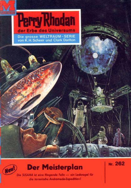 Perry Rhodan 262: Der Meisterplan