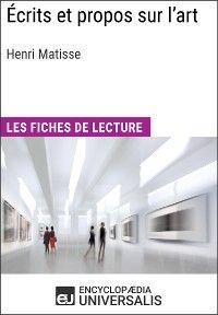 Écrits et propos sur l'art d'Henri Matisse
