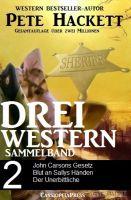 Pete Hackett - Drei Western, Sammelband 2
